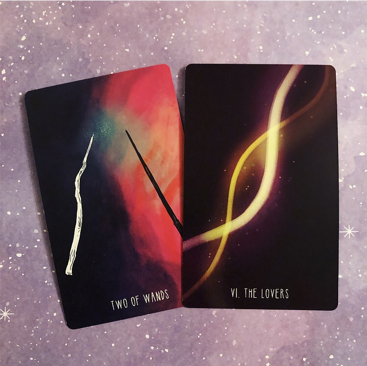 Pair One: Two of Wands and the Lovers